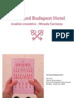 Analisis de El gran hotel Budapest