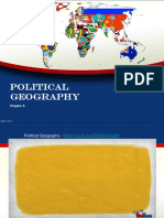 chapter 8 political geography review