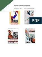 Las Mascotas y Logos de Los Mundiales