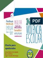No a La Violencia Escolar
