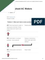Troubleshoot AC Motors - Part 1 - Maintenance WorldMaintenance World – an Article Source for Reliability and Maintenance Management Professionals