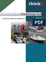 Technical Sheet Think Design Suite 2009 L En