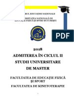 Brosura Admitere Masterat 2018