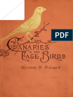 Canaries and Cage-birds by G. H. Holden (1883)