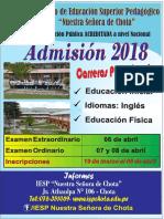 IESP Admision 2018
