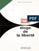Eloge de la liberté Isaiah Berlin.pdf