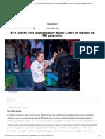 02-05-18 IEPC buscará más propaganda de Miguel Castro sin logotipo del PRI para retirar