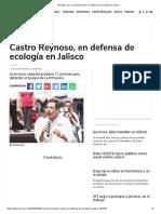 02-05-18 Castro Reynoso, en defensa de ecología en Jalisco