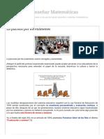 Aprender y Enseñar Matemáticas_ La Psicosis Por Los Exámenes