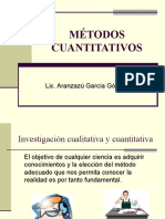 1. La Investigación cuantitativa