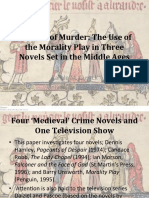 Theatre of Murder the Use of the Moralit