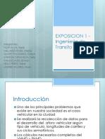 EXPOSICION 1 - Ingeniería de Transito