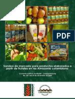 2007 Sondeo de Mercado de Frutales Amazonicos