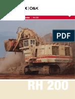 Terex RH200 - Brochure - M 135.0