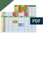 horario (modelo)