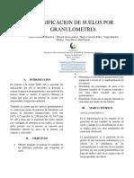 Clasificacion de Suelos Por Granulometria