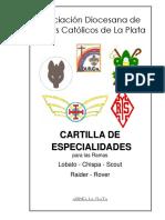 Cartilla de Especialidades ADISCA La Plata
