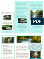 Susie's Freshwater River Travel Brochure