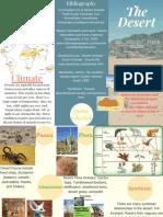 Robby's Desert Biome Travel Brochure