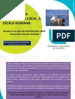 Agua Energía y Desarrollo Local a Escala Humana