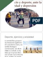 Ejercicio y Deporte Ante La Ansiedad y Depresion