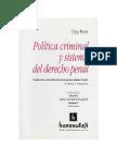 7 - Política criminal y sistema del Derecho penal - Claus Roxin.pdf