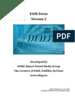 EASE Focus 2 User's Guide