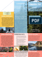 Amanda's Alpine Vista Travel Brochure