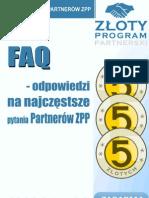 FAQ - odpowiedzi na najczęstsze pytania Partnerów ZPP