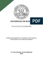 Analisis Transcriptomico y Proteomico Del Oviducto y Utero Bovino