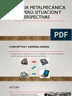 Industria Metalmecánica en El Perú