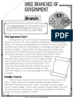 judicial branch article