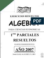 Algebra - 03 - Primer Parcial Resuelto