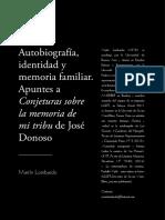 Autobiografía identidad y memoria familiar José Donoso Revista Caracol Lombardo.pdf