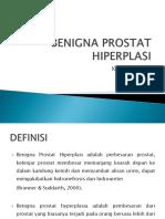 Benigna Prostat Hiperplasi