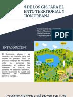 Aplicación de Los Gis Para El Ordenamiento Territorial y Planificación Urbana