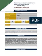 Anatomia Dental - PLANEACIÓN DIDÁCTICA