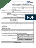 Formato Sarlaf juridica - Cajacopi 2018