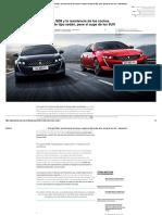 El Peugeot 508 y La Resistencia de Los Coches Europeos de Tipo Sedán, Pese Al Auge de Los SUV - Diariomotor