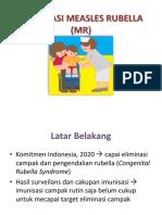 Imunisasi Measles Rubella (Mr)