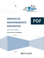 Ps-1495 Mantenimiento Preventivo Vicca