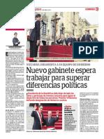 Nuevo Gabinete en el Peru 2018 - Correo Arequipa abril 2018