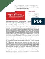 07 Sobre Artículo de Richar Webb Hola Psicología...Chau Economía