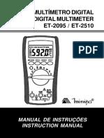 Equipamentos Multimetro2 Et 2510 1101