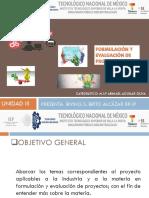 Expo Formulación y Evaluación de Proyecto