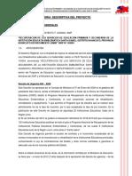 Memoria Descriptiva Santa Isabel General