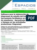Software Para Estudio de Tiempos y Movimientos