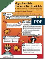 El peligro invisible. La radiación solar ultravioleta