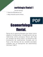 3. Geomorfologia Fluvial