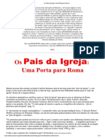 Os Pais Da Igreja - Uma Porta Para Roma